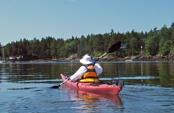 Always wear a PFD when you are in a kayak. Always - even on calm waters