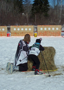 Biathlon is the toughest sport in the world--and the most fun you can have with a paintball gun! (EasternSlopes.com)