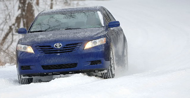 Winter driving can be both fun AND safe with the right tires (Tire Rack photo)