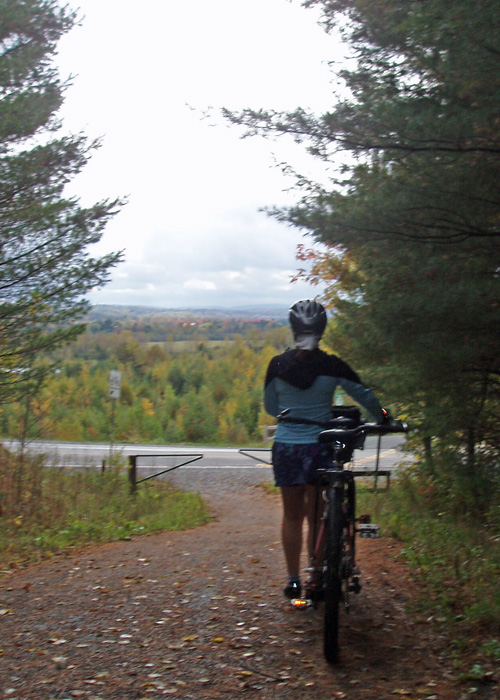 Quebec may just be the best place for a biking (or skiing) holiday in all of North America.