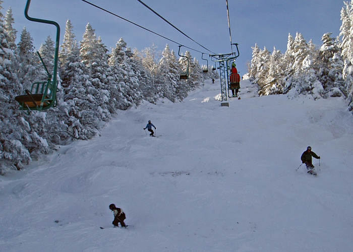 What's new at ski areas in Vermont this season . . .