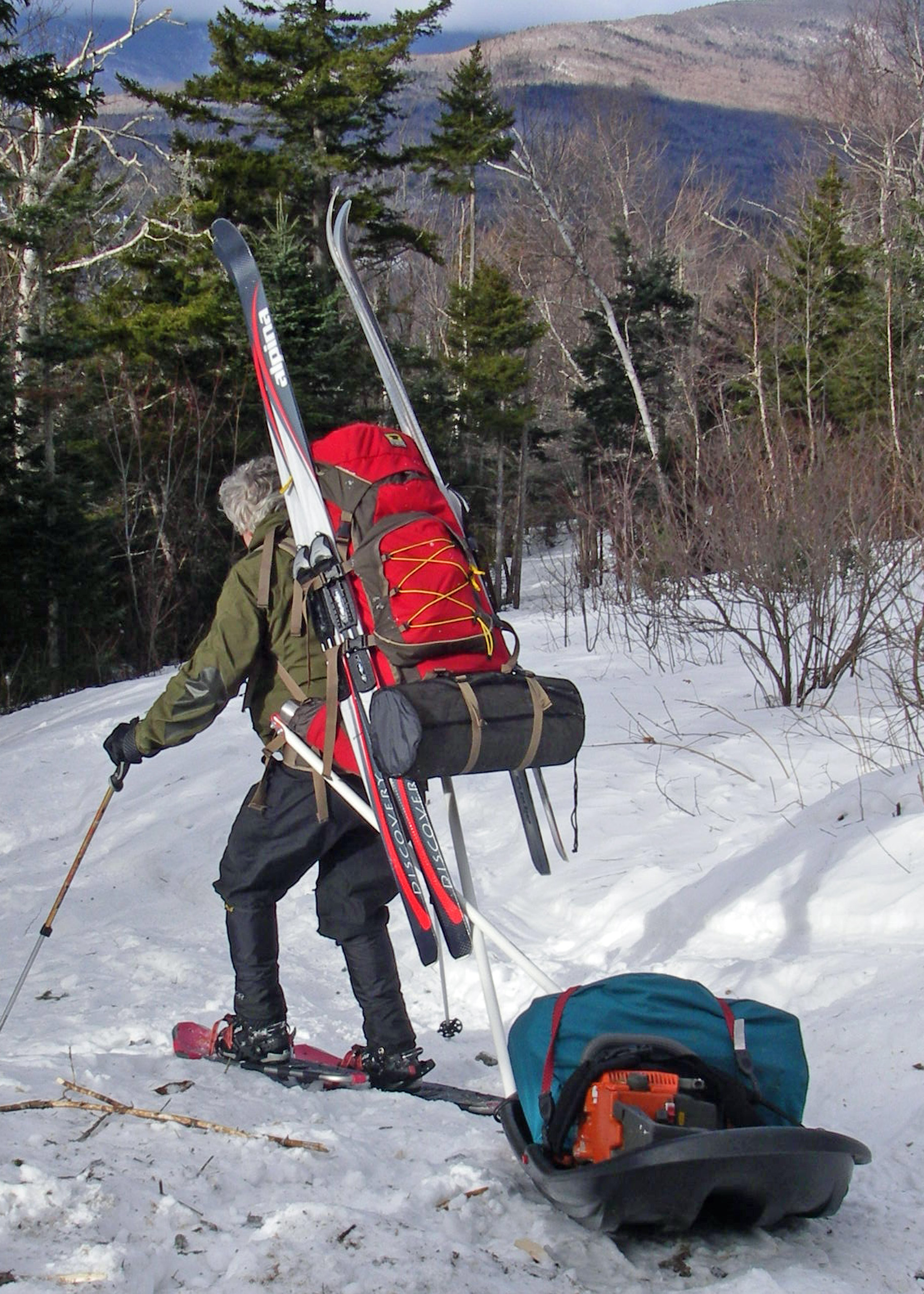 Winter gear weighs more, takes up more space. You need better ways to carry the load.