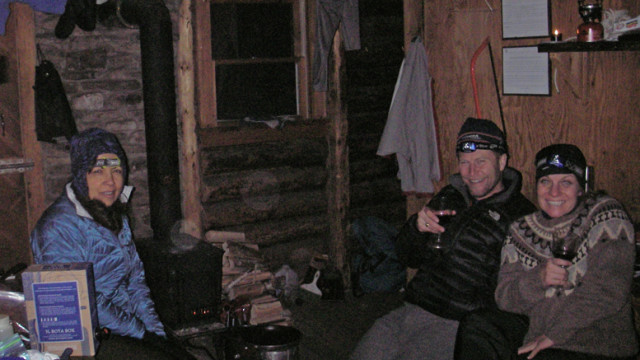 The right gear will keep you comfortable even if the woodstove won't. (Tim Jones photo