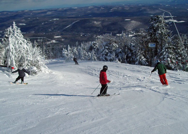I've started my personal ski season at Okemo Mountain Resort  more often than at any other area.