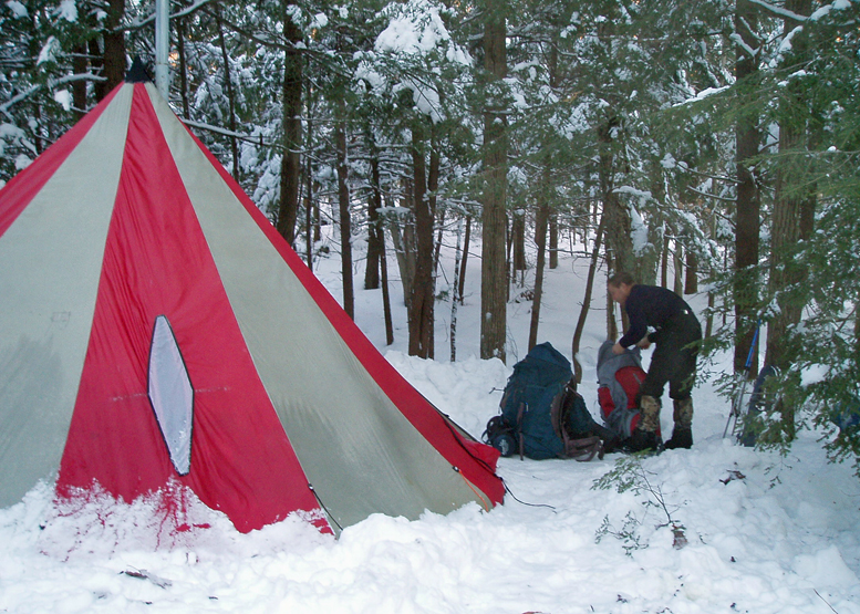 "Do you know the difference between ""warm"" and ""cold"" winter backpacking?"