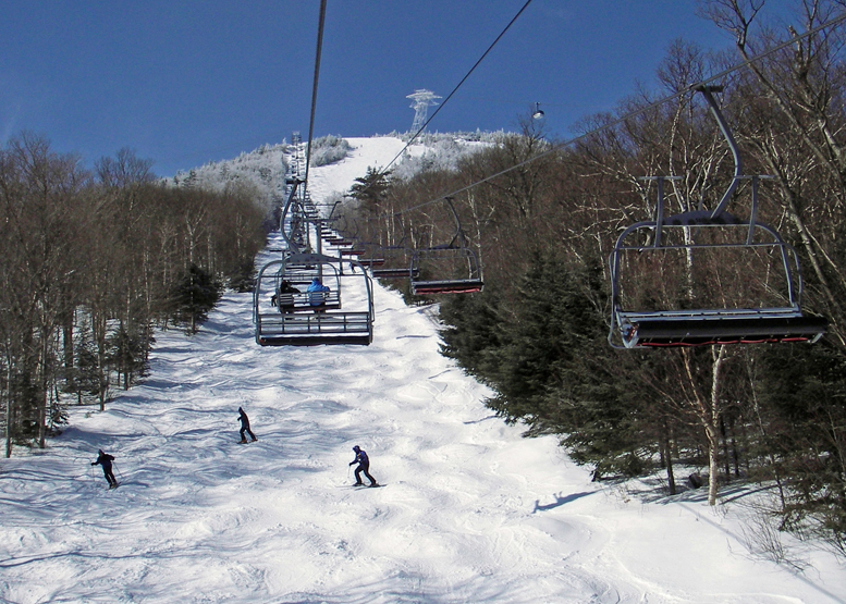 Even if skiing and snowboarding were not allowed Jay Peak, it would be worth going just for the scenery.