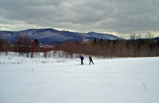 Cross country skiing will make you wish winter was much longer! (Tim Jones photo)