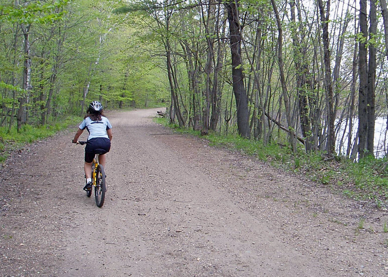 If you own a fat-tire bike, get out the map, find some interesting looking back roads and go for a ride this spring.