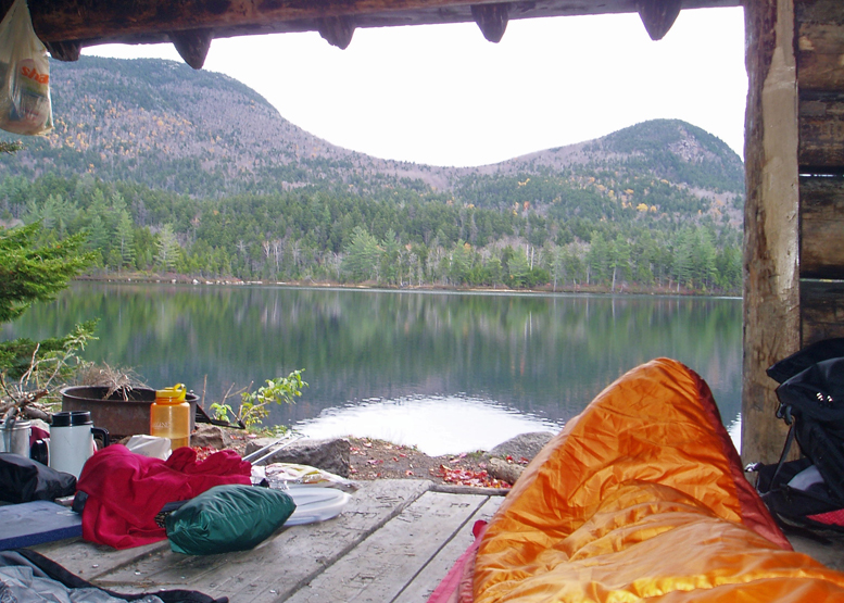 Wilderness Campsites: pads, platforms and shelters