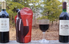 From $3 Wal-Mart to $300 Bordeaux, the PlatyPreserve/GSI wineglass combo will help you enjoy! (David Shedd photo)