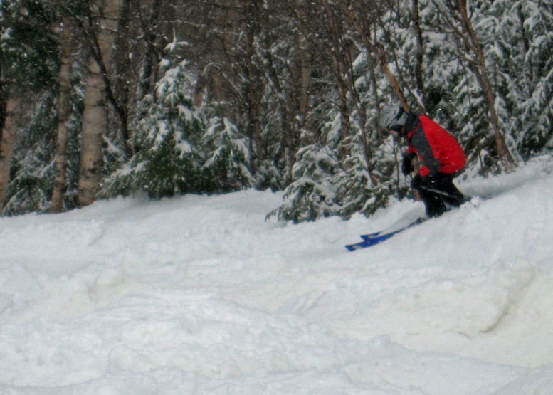 The options are dwindling, but spring skiing warriors still have a pick of three New England resorts . . .