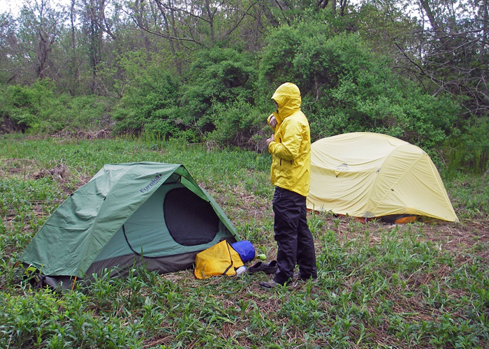Lots of folks are tied to roadside campsites by the gear they've chosen.