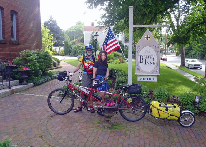 We'd been dreaming of doing this circuit of Cape Cod by ferry and bike for several years