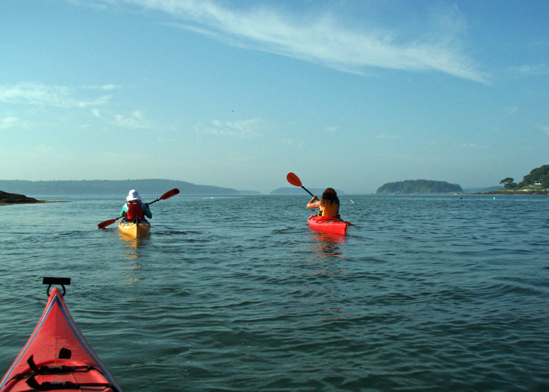 Perfect summer weekend? Try paddling kayaks on Maine's Mid-Coast