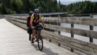 This is one of the most popular bike routes in Quebec. Now we know why.