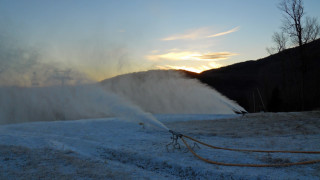 Whiteface snowmaking, 11-19-10