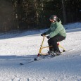 Riding a Snowbike gives you almost the same feeling you get on skis—a controlled adrenaline rush that lasts top to bottom.