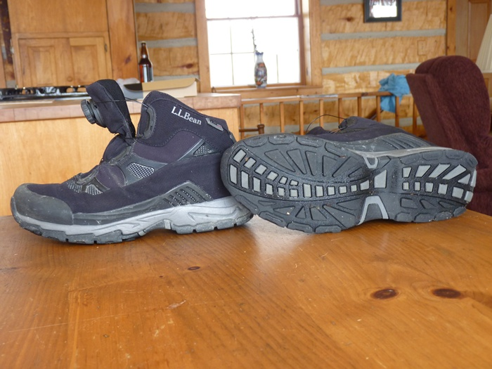 The Tuckerman Sport Boot from L.L. Bean looks pretty normal...but in use, it's super! (Warner Shedd photo)