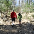 While exploring the Mount Washington Valley, our family took a guided a hike on the Pudding Pond Trail with guide Lucie Villeneuve and her family.