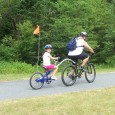 New Hampshire's Franconia Notch is packed with fun family activities and traveling by bicycle is a great way to get to them.