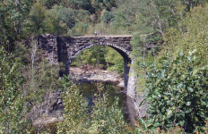 Keystone Arch Bridges Trail (Tim Jones photo)