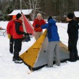 "Winter Skills Day at the Hulbert Center is a chance to comfortably and safely learn to enjoy the most beautiful of New England's seasons...and ""go camping"" with the EasternSlopes.com crew!"