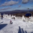Mount Snow turns a brand-new lift for opening day, and it's like nothing you've ever ridden before!