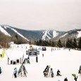Fun times and surprisingly good snow were had by all at Sunday River's and Killington Resort's college weeks.