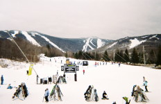 Killington Mountain, taken from the Ramshead Lodge. (Caroline McDonald photo)