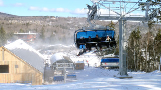 Mount Snow Bluebird Express (Tim Jones photo)