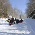 When warm spring sun hits Vermont's Lincoln Gap, it's time for a day of fast, fun sledding!!!