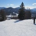 Black Mountain (NH) provides surprisingly good conditions and short lift lines, even on a holiday!