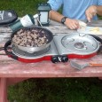 We've never tested an all-around car camping stove that performed as well or was designed as neatly as the Coleman PerfectStart InstaFlow Fold N Go 2-Burner Stove...period.