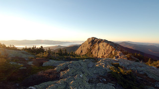 """The top of Mount Mansfield is a series of high points, with """"The Chin"""" being the official summit, (Tom Anderson)"""