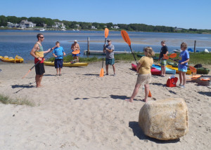 Sometimes, all you need is some very basic pointers on dry land  to get started with kayaking. (EasternSlopes.com)
