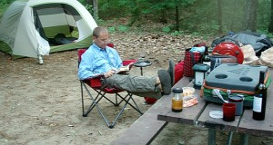 Wenzel Banquet Chair car camping