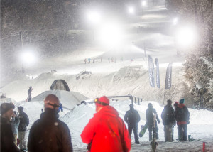 Midnight Madness at Crotched Mountain lets you ski until 3 a.m. on weekends and holidays. (Crotched Mountain)