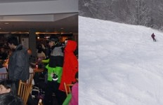 Lodge vs. slopes at Sunday River