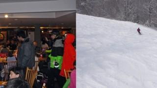 Lodge vs. slopes at Sunday River