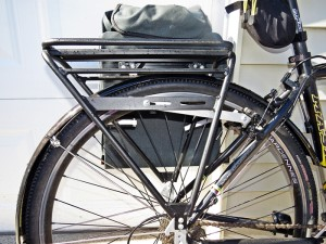 The Arkel Old Man Mountain Pioneer bike luggage rack