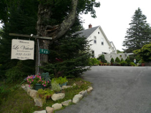 The gardens alone would make a stay at Le Vatout in Waldoboro, Maine a treat, but the rooms are comfy, the hosts friendly, and the breakfast is awesome. (Le Vatout photo)