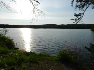 Dawn at Second Connecticut Lake. (Deborah Lee Luskin/EasternSlopes.com)