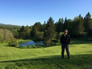 The scenery revived me when I arrived at The Cabins at Lopstick. (Deborah Lee Luskin/EasternSlopes.com)