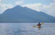 Flagstaff lake Kayaking