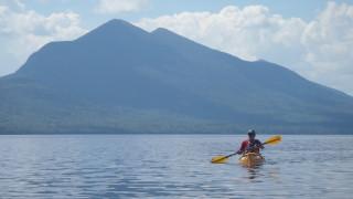 Flagstaff lake Kayaking