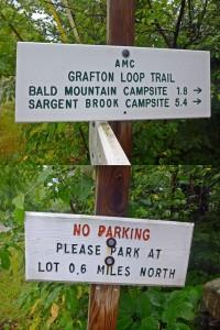 Grafton Trail Loop signs