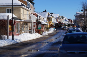 Need a break from the slopes to stretch your legs? Baie-Ste.-Paul is a charming town with an array of galleries, shops, and restaurants to keep even the he most ardent tourist occupied for a few hours. (Jonathan Gourlay photo)
