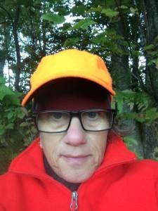 Hunting selfie. (photo by Deborah Lee Luskin for www.easternslopes.com)