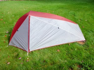 A nice, easy-to-set-up tent with decent room and weight, the L.L. Bean Microlight FS 1-Person impressed us with its quality and value. (EasternSlopes.com)