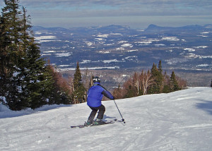 The slopes and the views are beautiful at Burke Mountain in Vermont's Northeast Kingdom. (EasternSlopes.com)